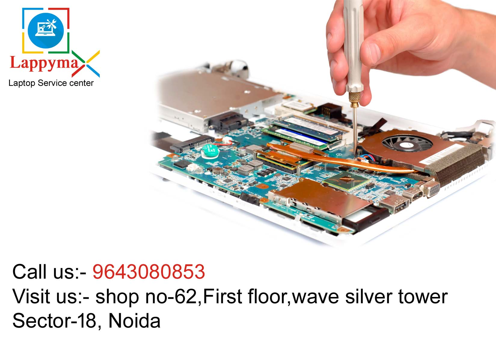 Dell Service center in Noida sector 18