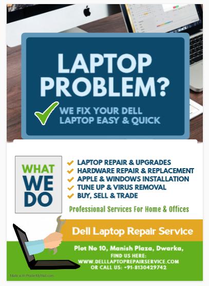 Dell Service Center in Mundka