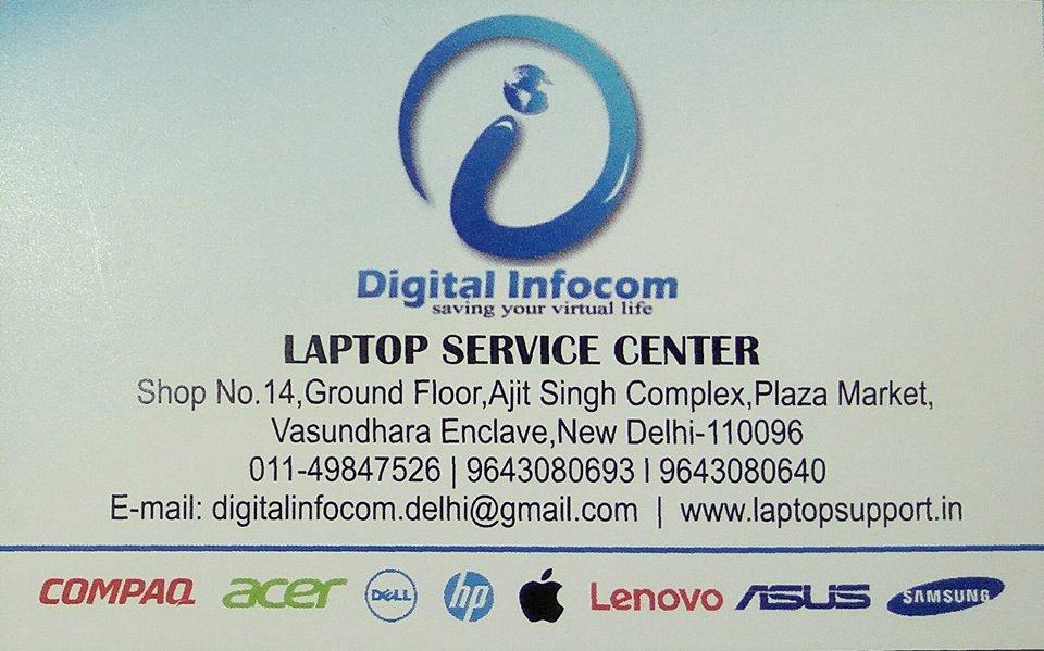 Laptop Service Center Delhi NCR