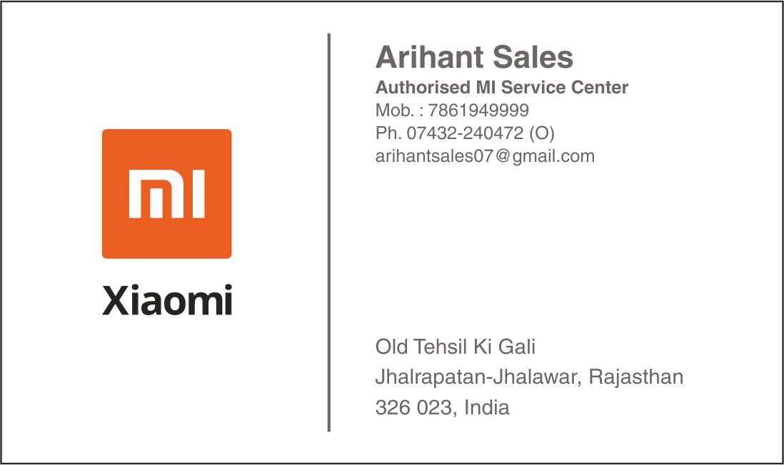 Arihant sales in Jhalawar
