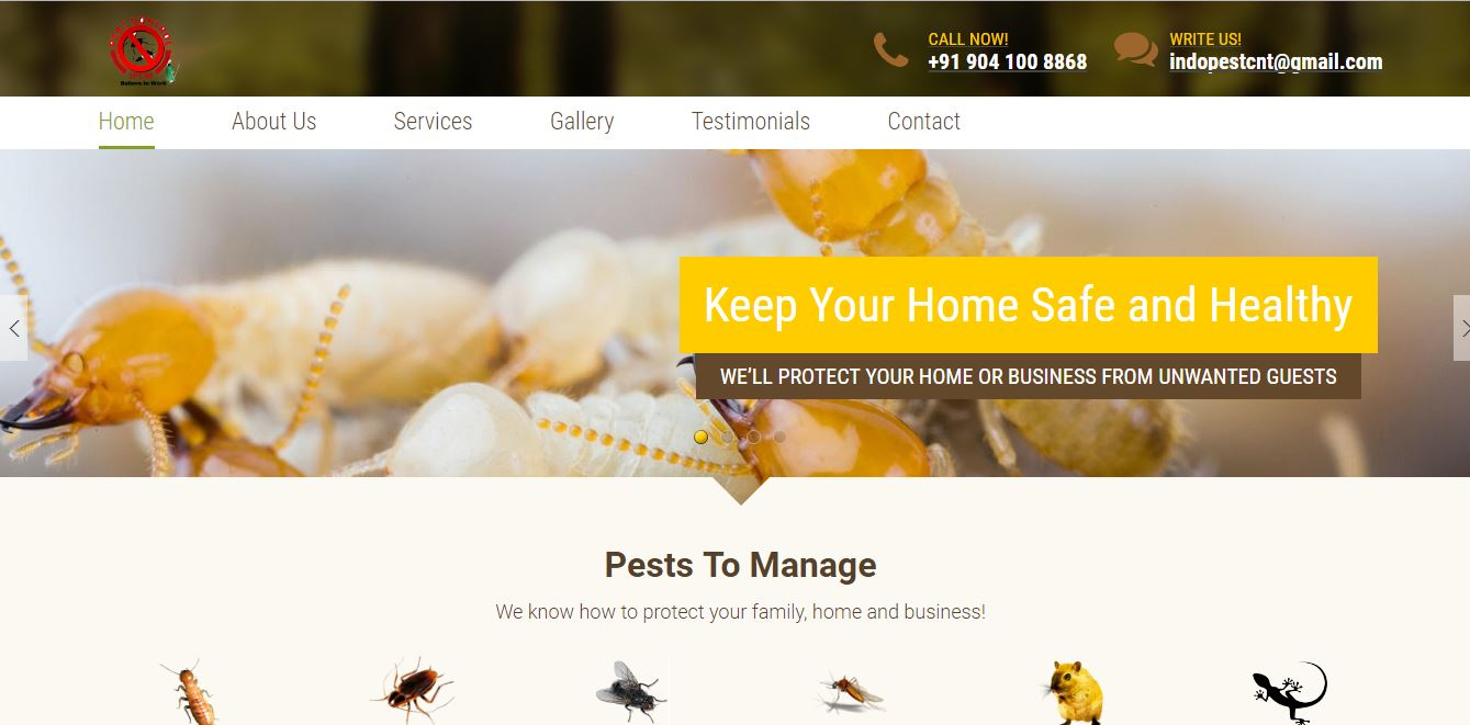Pest Control Services in Saharanpur