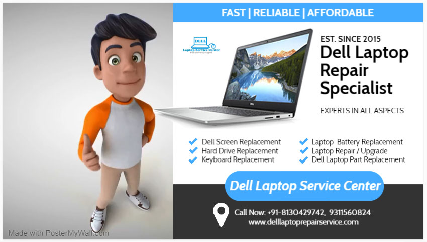 Dell Service Center in Kamla Nagar
