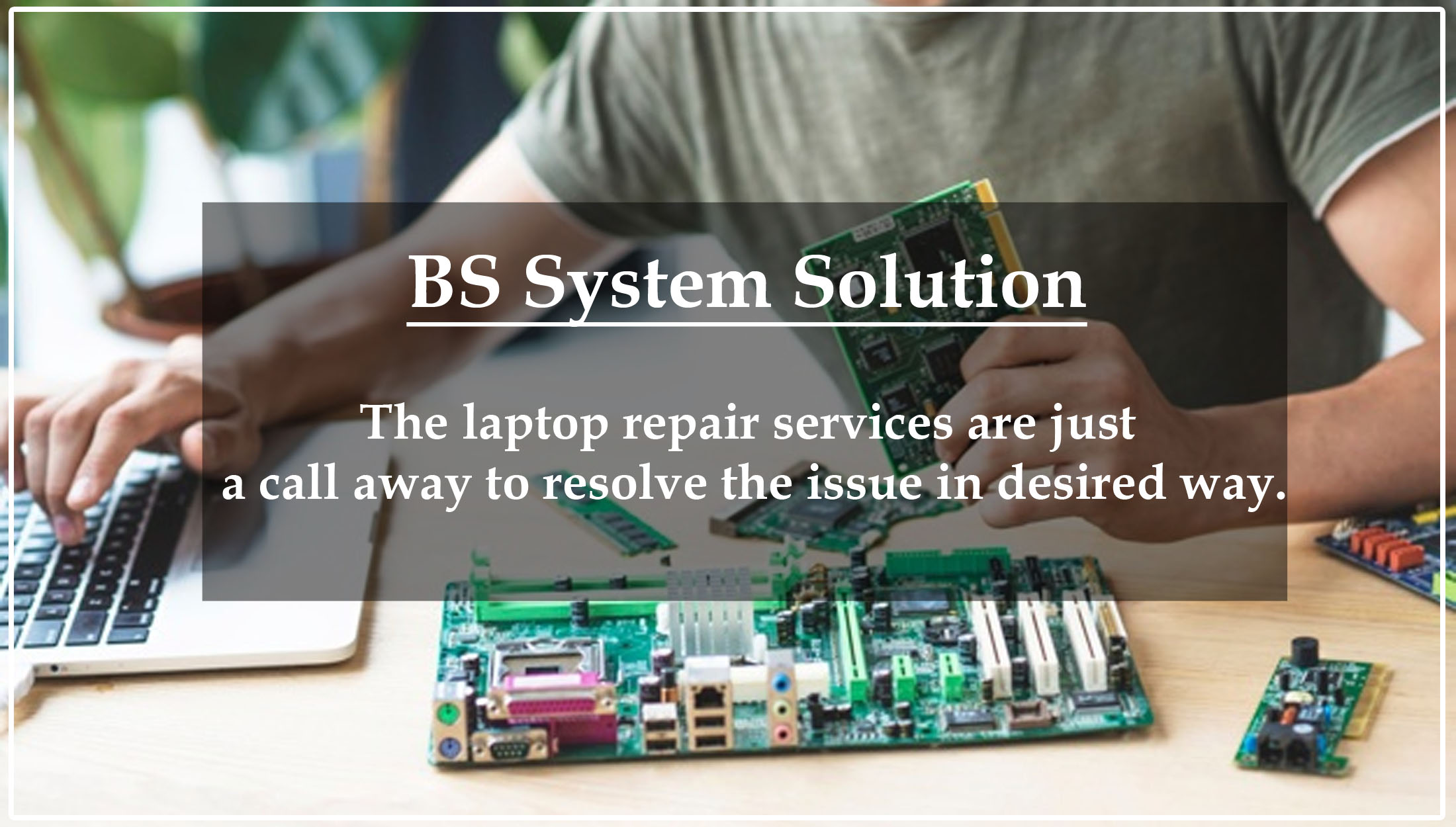 BS System Solution Computer AMC Services