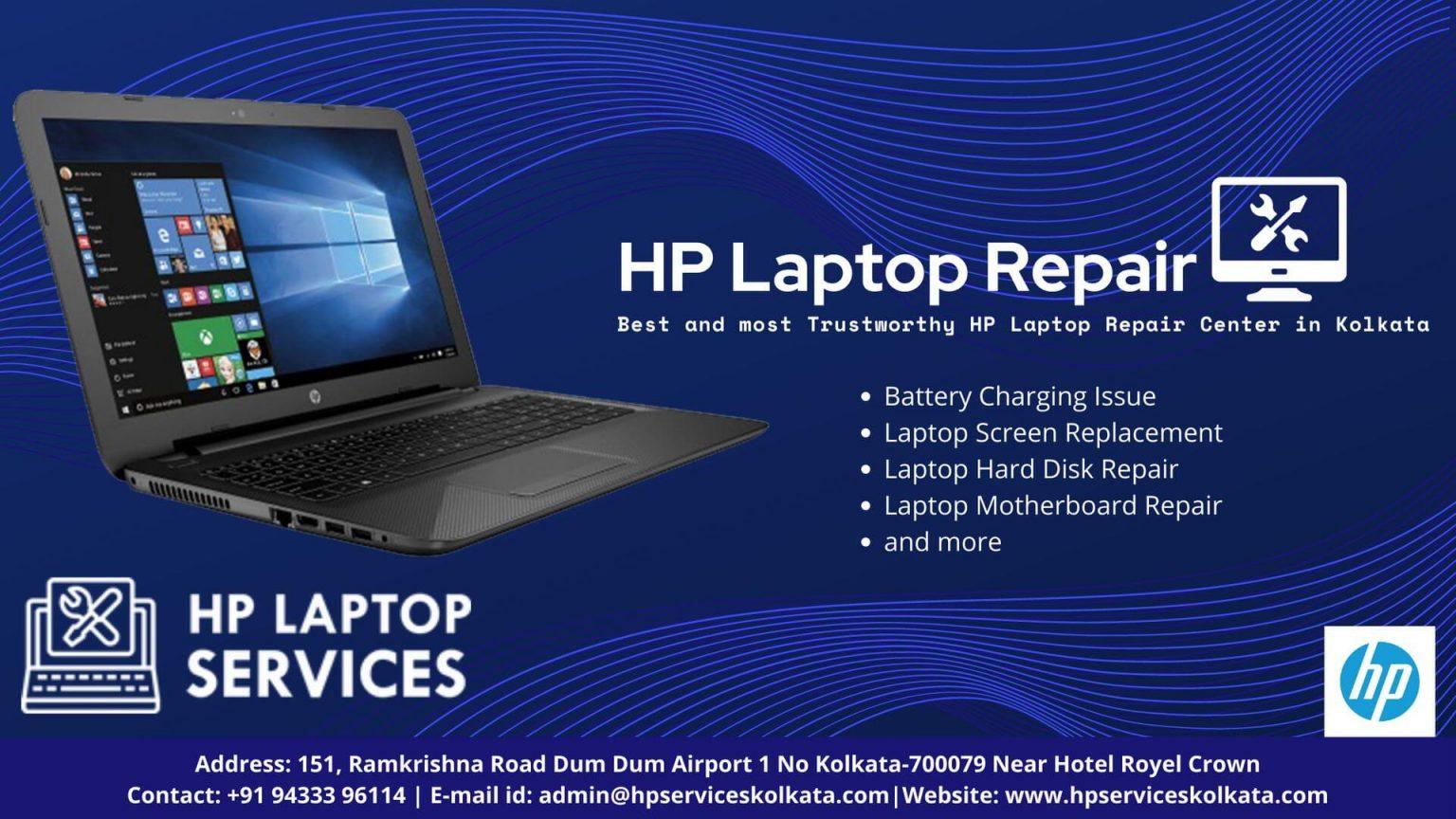 HP Service Center in Kolkata