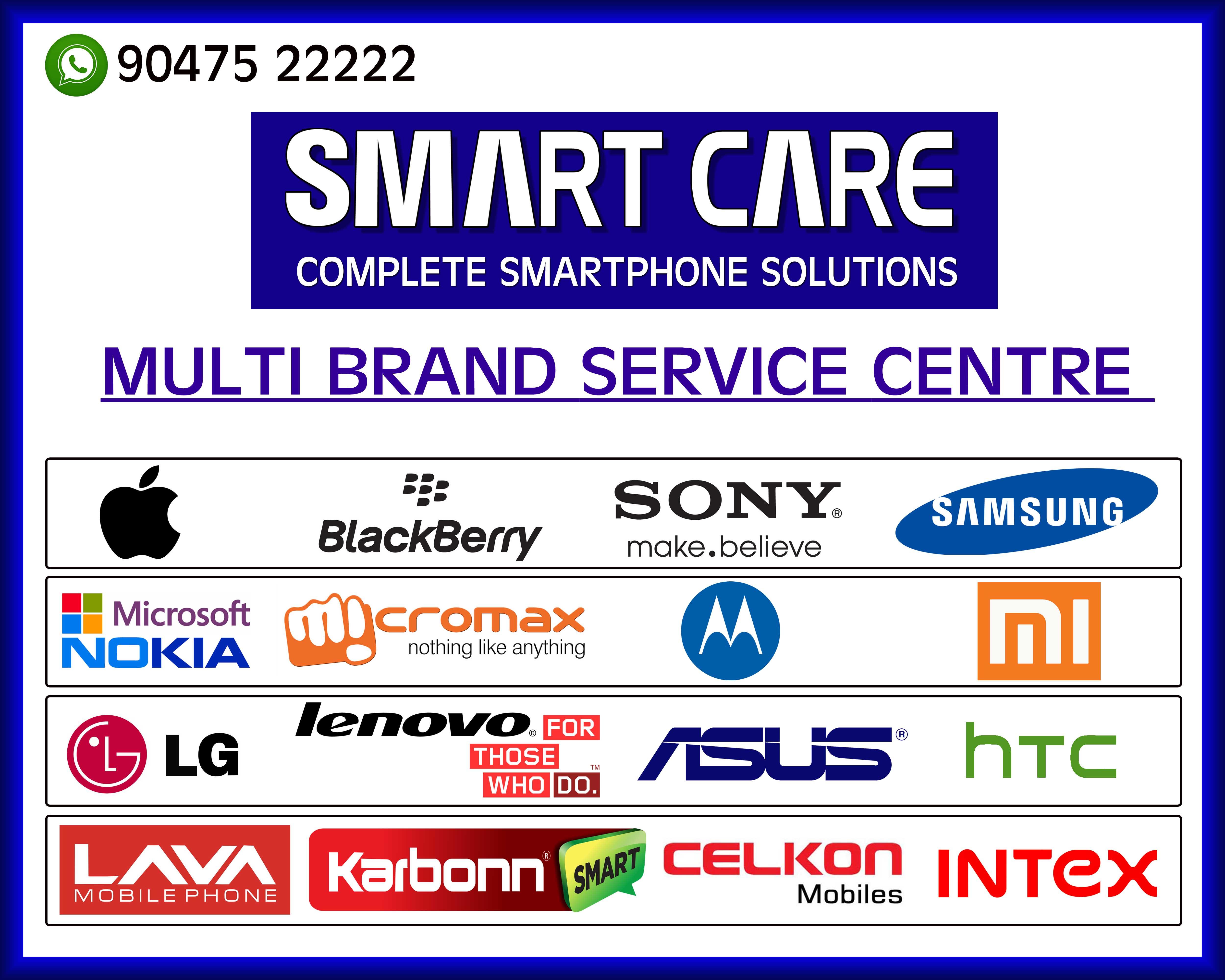 Smart Care iPhone oneplus honor mi oppo Asus in Dindigul