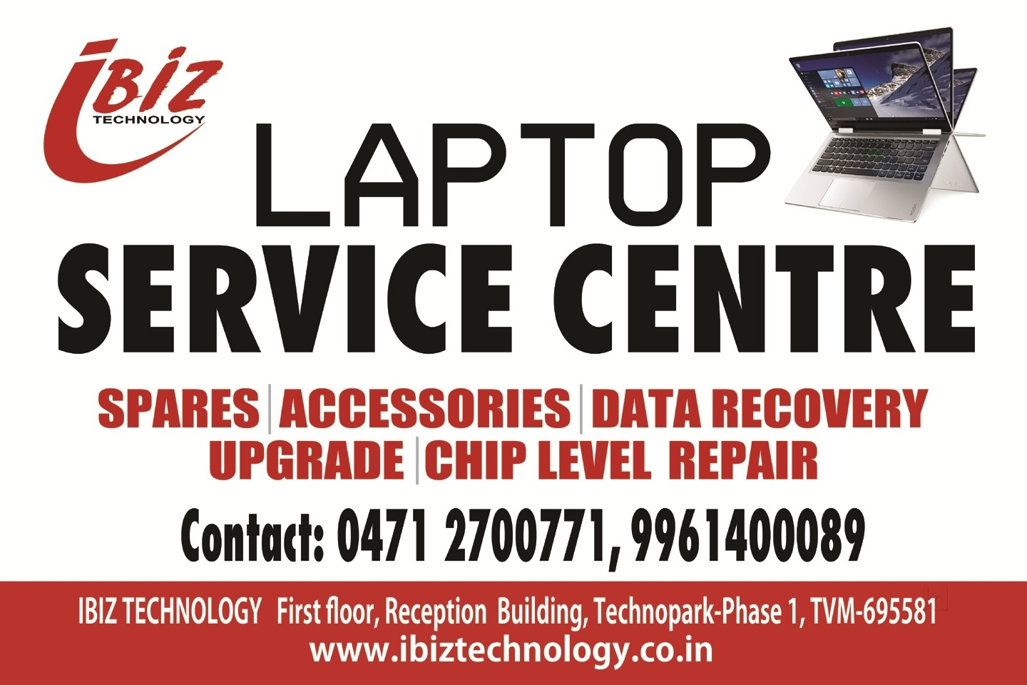 Laptop Service center IBIZ TECHNOLOGY