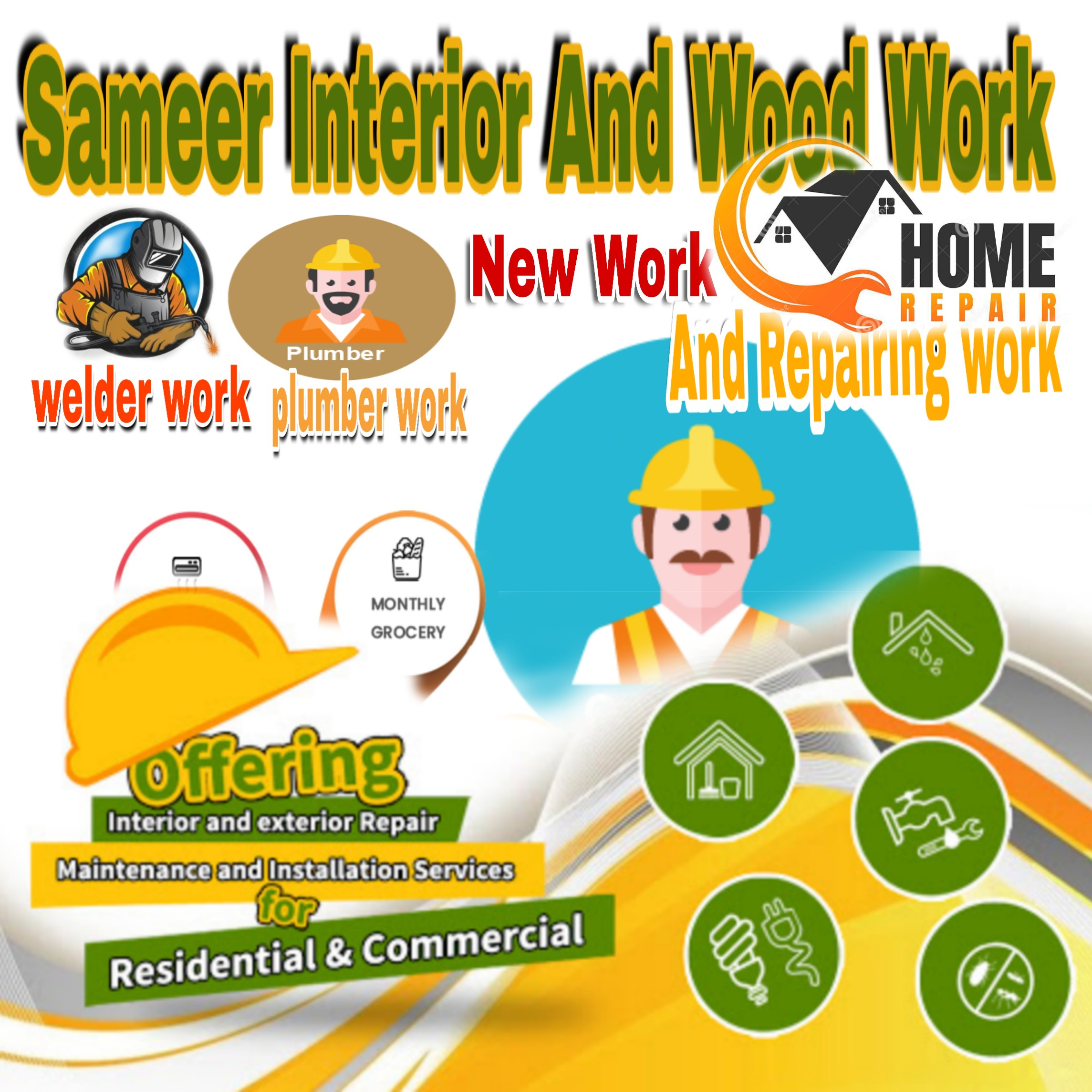 Sameer Interior And Wood Work in Gautam Buddha Nagar