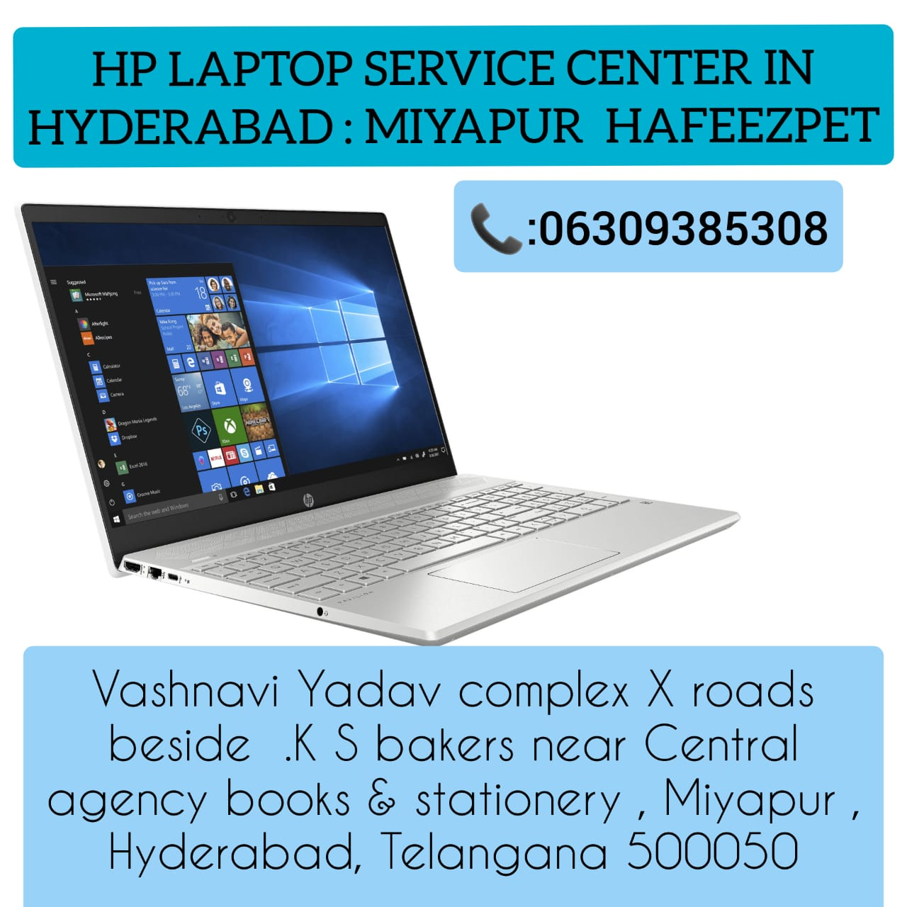 Hp Laptop Service Center In Hyderabad Miyapur 06 in Hyderabad