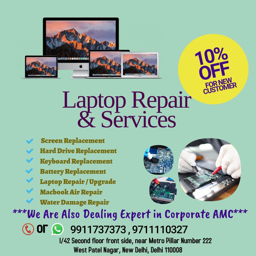Laptop Clinics in New Delhi