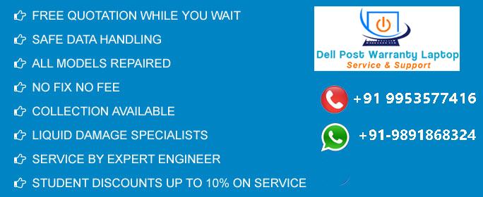 Dell Laptop Servcie Center in Uttam Nagar
