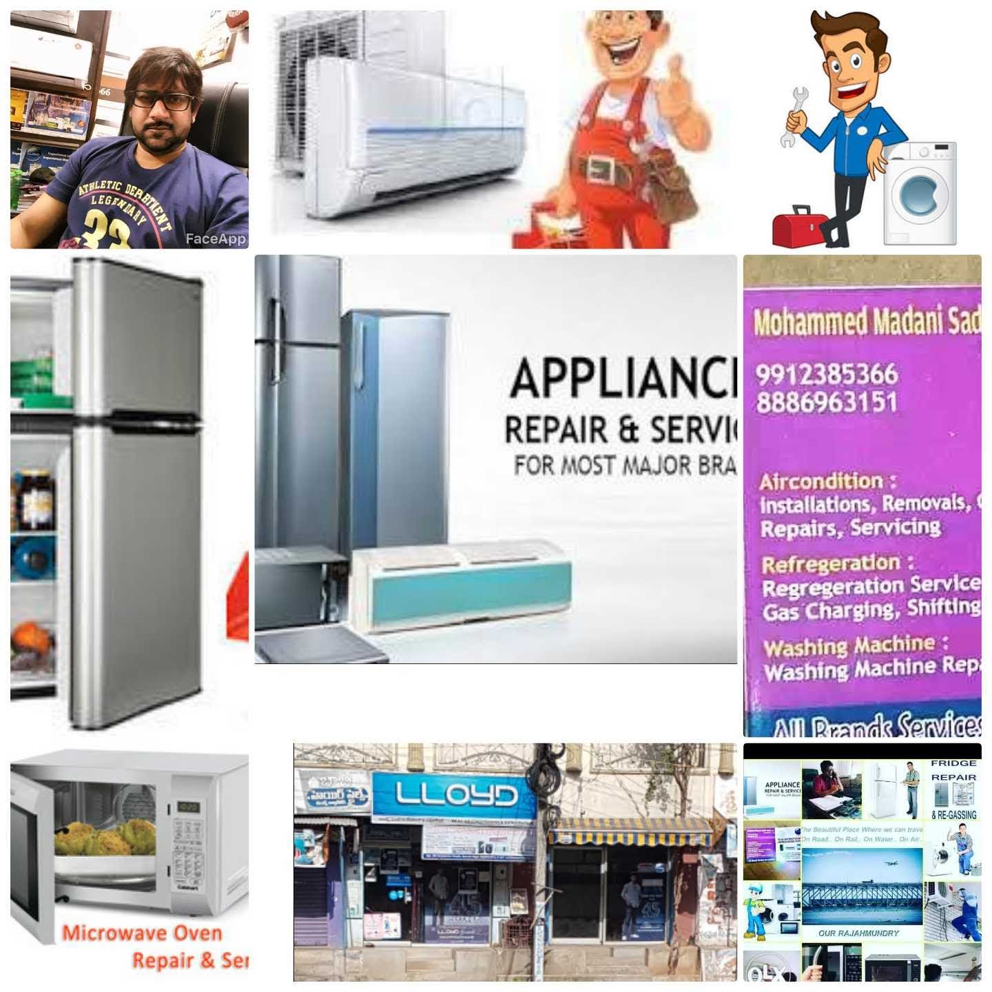 Relax Air Conditioning And Refrigeration Works  in Rajahmundry