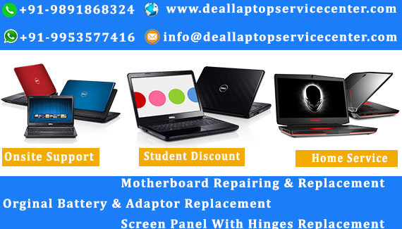 Dell Laptop Service Center in Kaushambi