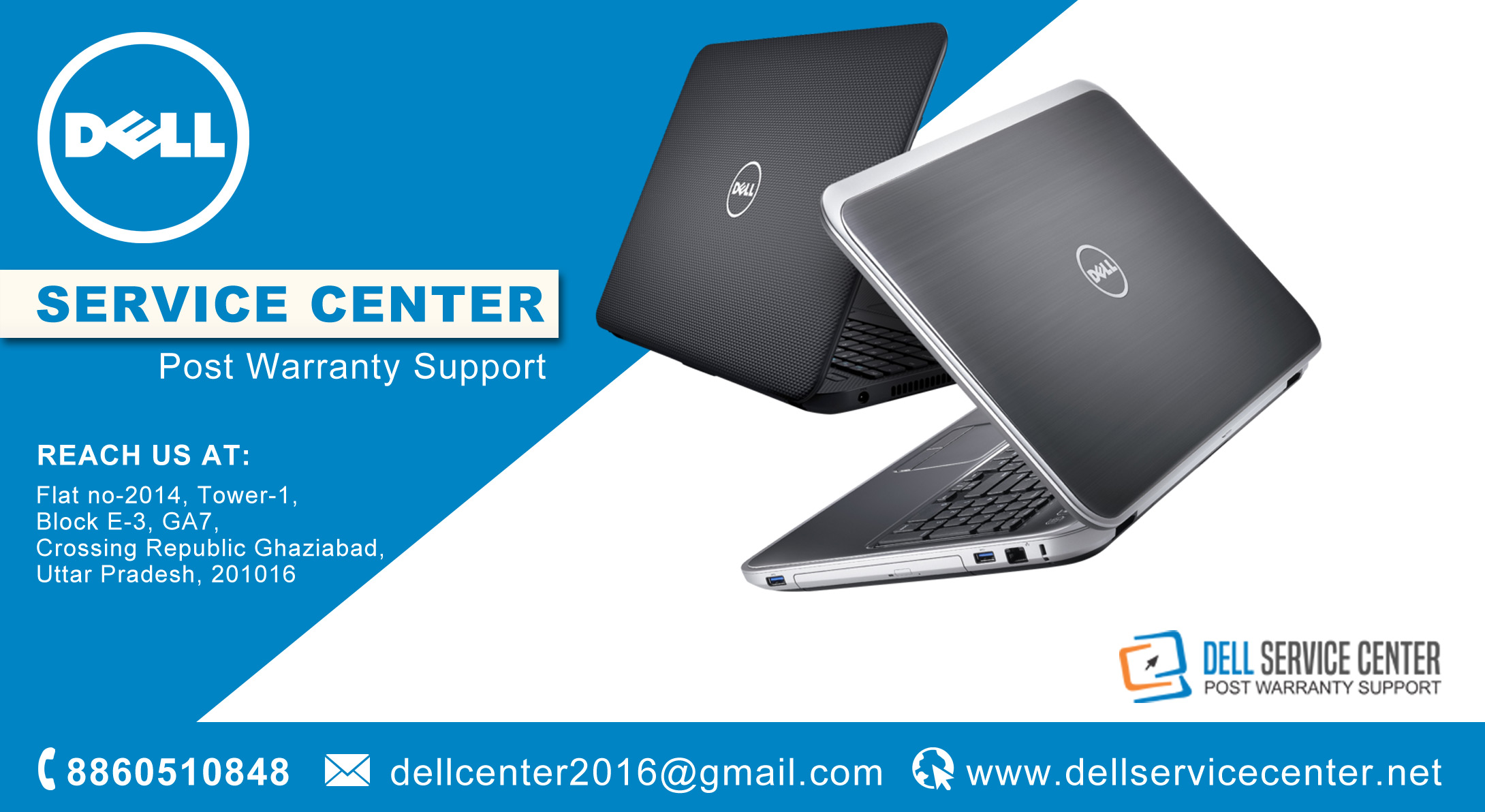 Dell Laptop Service Center in Ghaziabad