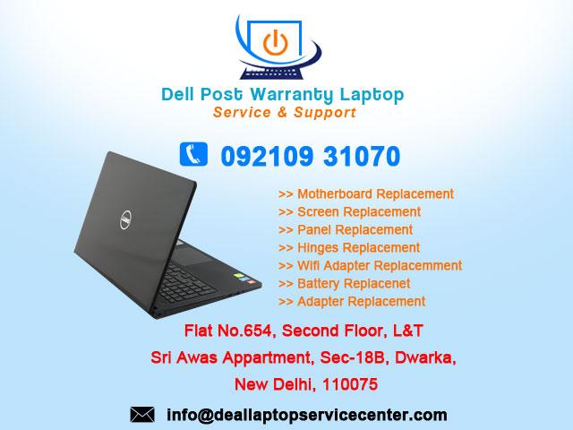 Dell Laptop Service Center in Dwarka