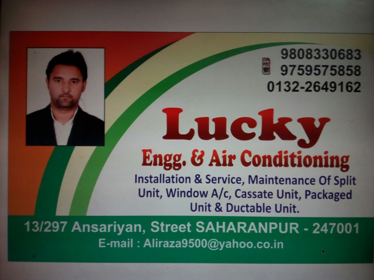 LUCKY ENGG AIR CONDITIONING in Saharanpur
