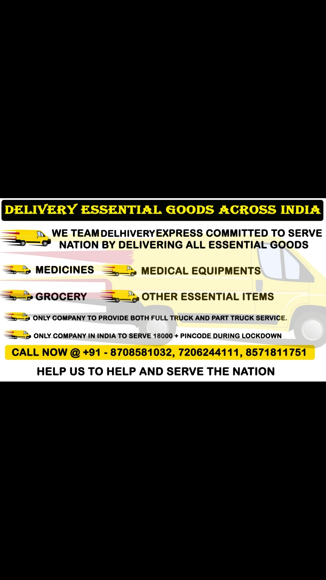 Delhivery International Courier Cargo Services