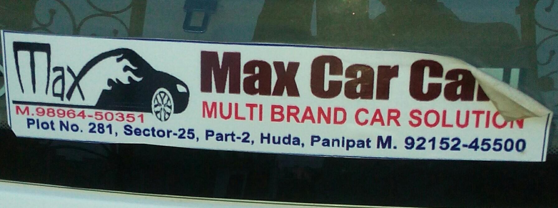 Max car care