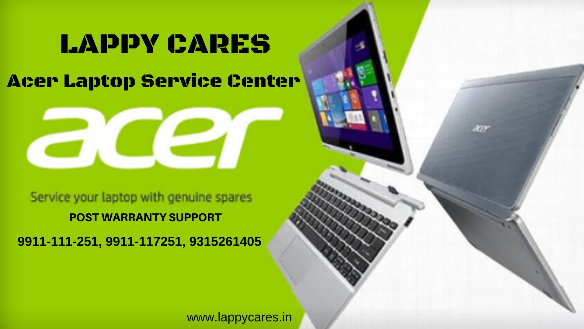 Acer Laptop Service center in Dwarka 9911 117 251